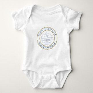 Palau - Emblem/Flagge/Wappen/Symbol Baby Strampler