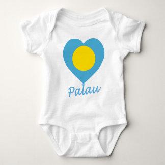 Palau kennzeichnen Herz Baby Strampler