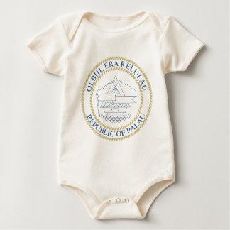 Palau-Wappen Baby Strampler