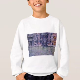 Palazzo DA Mulla durch Claude Monet Sweatshirt