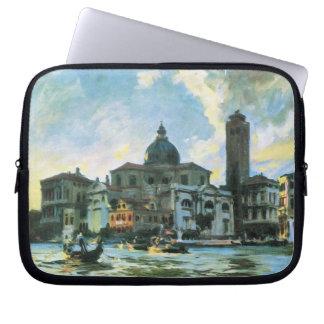 Palazzo Labia, Venedig durch Sargent, Vintage Laptop Sleeve