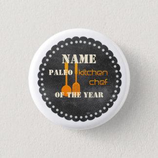 Paleo Küchen-Kochs-Koch, der Hobby-Jahr-Knopf Runder Button 3,2 Cm