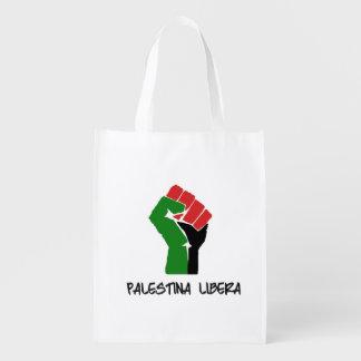 Palestina Libera Wiederverwendbare Tragetaschen