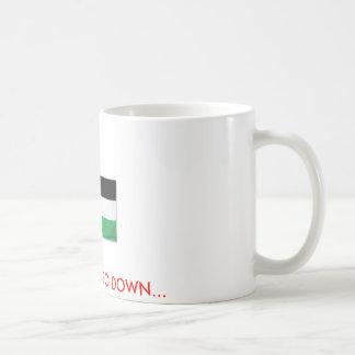 PalestineFlagBig08, GEHEN WIR NICHT HINUNTER… Kaffeetasse