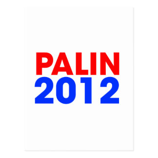Palin 2012 postkarte