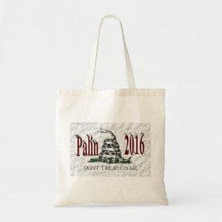 PALIN 2016 Taschen-Tasche, Burgunder 3D, weißes Budget Stoffbeutel