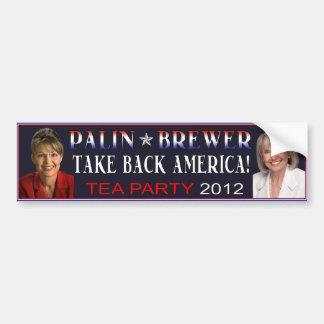 Palin Brauer-Autoaufkleber 2012 Autoaufkleber