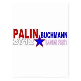 Palin-Buchmann 2012 (Damen zuerst) Postkarte