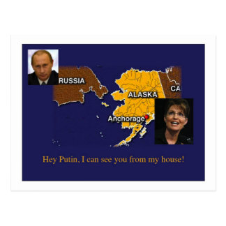Palin Postkarte