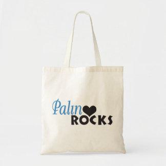 Palin schaukelt mein Herz Budget Stoffbeutel