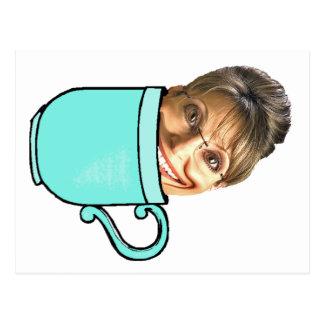 Palins Tee-Party Postkarte