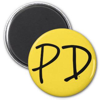Palladium-Magnet Runder Magnet 5,1 Cm