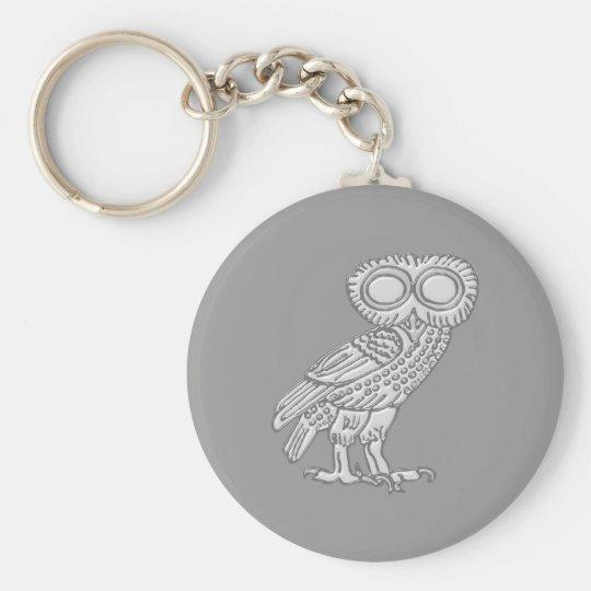 Pallas Athene Athena Eule owl Schlüsselanhänger