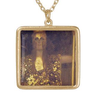 Pallas Athene durch Gustav Klimt Vergoldete Kette