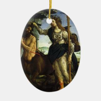 Pallas und der Zentaur durch Sandro Botticelli Keramik Ornament