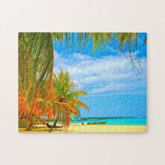 Palm Beach Montego Bay Jamaika Puzzle