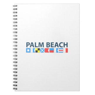Palm Beach. Notizblock