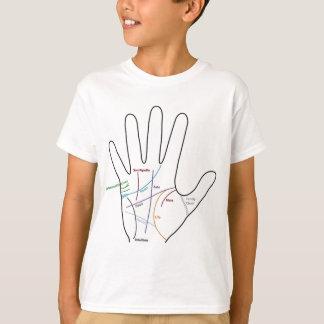 palm reading Lesen von handgemacht T-Shirt