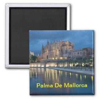 Palma de Mallorca Magneten Quadratischer Magnet