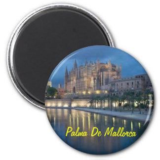 Palma de Mallorca Spanien Magnet Runder Magnet 5,7 Cm