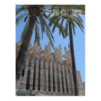 Palma gotische Kathedrale Majorca Spanien Reise Postkarte