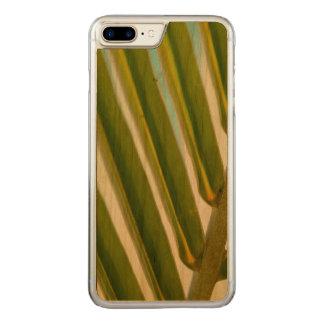 Palmblatt-Foto Carved iPhone 8 Plus/7 Plus Hülle