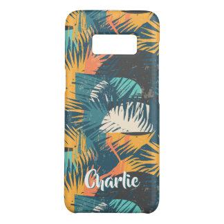 Palmblatt-Muster-Name-Telefon-Hüllen Case-Mate Samsung Galaxy S8 Hülle