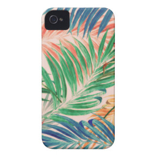 Palmblätter in der Farbe iPhone 4 Case-Mate Hülle