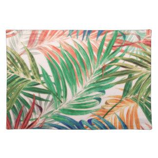 Palmblätter in der Farbe Tischset