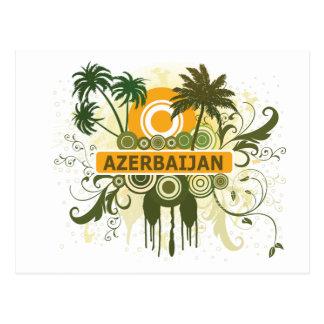 Palme Aserbaidschan Postkarte