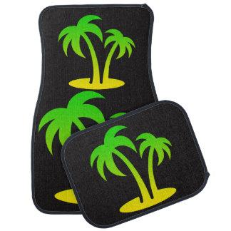Palme-Auto-Boden-Matten (volles Set) Autofußmatte