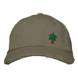 Palme-beunruhigte Kappe
