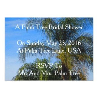 Palme-Brautparty-Einladungen 12,7 X 17,8 Cm Einladungskarte
