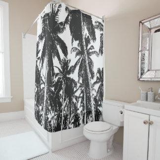 Palme-Entwurf Duschvorhang