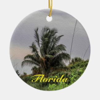 Palme-Florida-Baum-Verzierung Keramik Ornament