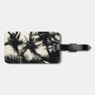 Palme-Fotografie-Gepäckanhänger Kofferanhänger