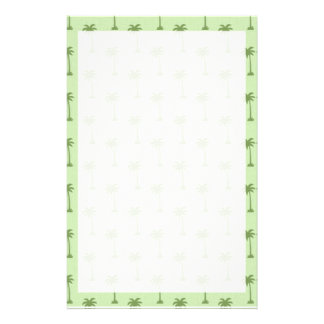Palme-Muster Personalisierte Druckpapiere
