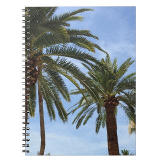 Palme-Notizbuch Notizblock