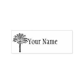 Palme personalisiert gummistempel