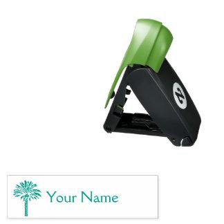 Palme personalisiert taschenstempel