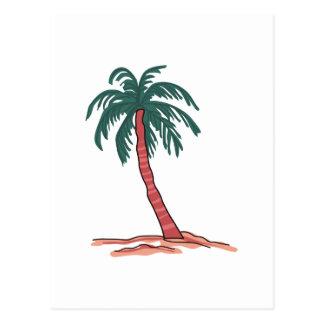 Palme Postkarte