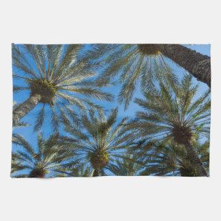 Palme-Regenschirm Geschirrtuch