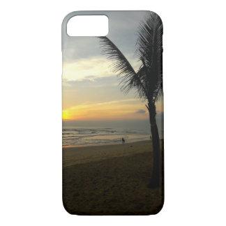 Palme-Sonnenaufgang iPhone Fall iPhone 8/7 Hülle