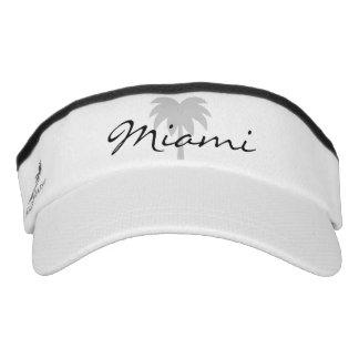 Palme-Sonnenblendekappe Miami-Bootskapitänhüte   Visor