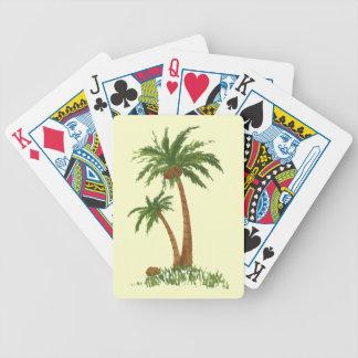 Palme-Spielkarten Pokerkarten