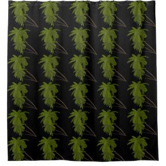 Palme-tropisches hawaiisches themenorientiertes duschvorhang