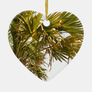Palme von der Ostküste berühmtes Myrtle Beach Keramik Ornament