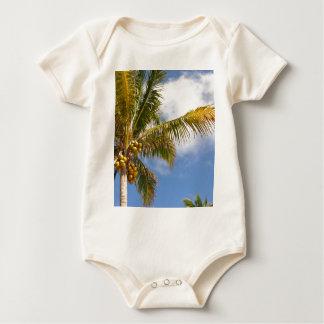 Palmen auf dem Strand Baby Strampler