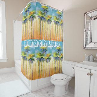 Palmen-Duschvorhang Duschvorhang