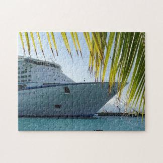 Palmen-gerahmter Bogen Puzzle